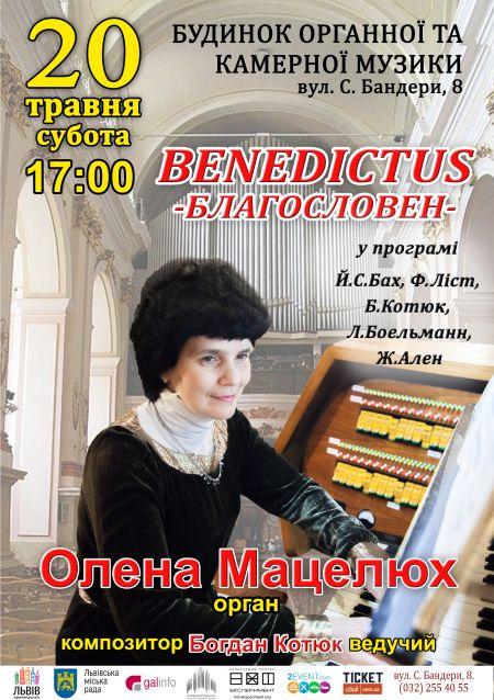 ВЕЧІР ОРГАННОЇ МУЗИКИ. Львівський органний зал