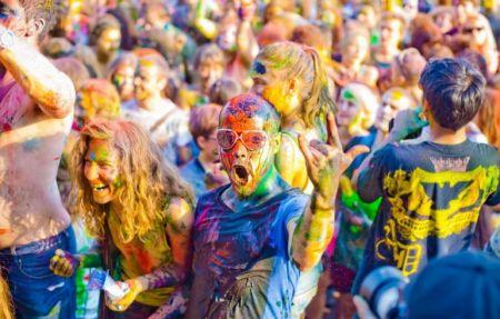 Фестиваль красок ELEFANT 2016
