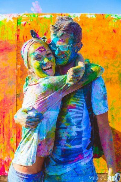 Фестиваль красок в Новосибирске 2017
