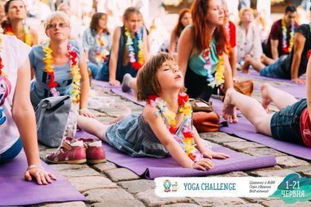 Lviv Yoga Challenge 2017