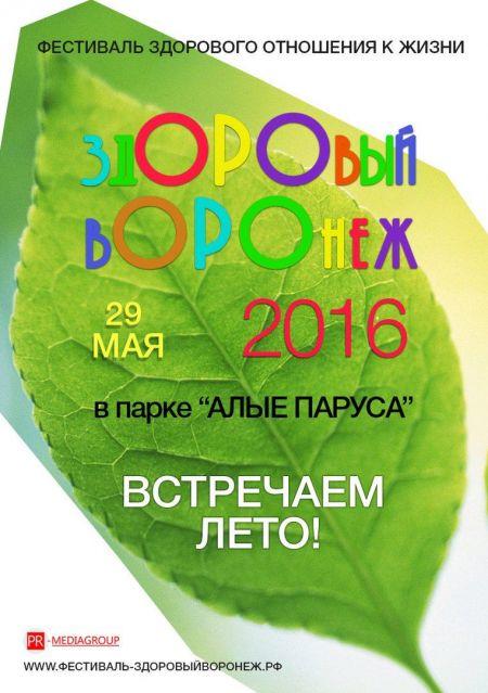 """Фестиваль """"Здоровый Воронеж-2016"""""""