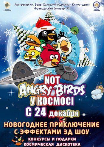 Спектакль Not Angry birds в Космосе
