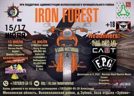 Фестиваль Iron Forest 2016