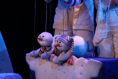 СНЕЖНЫЕ ЧЕЛОВЕЧКИ. Одесский театр кукол